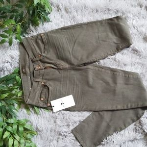 7 for all mankind Army Green Jeans